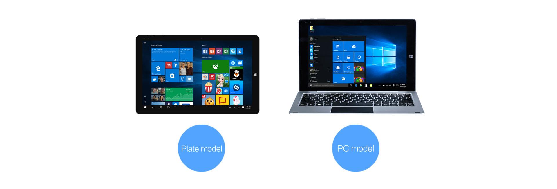 فرصه لربح تابلت بنظامى تشغيل ويندوز10 واندرويد 5.1 ويمكن تحويله الى لاب توب