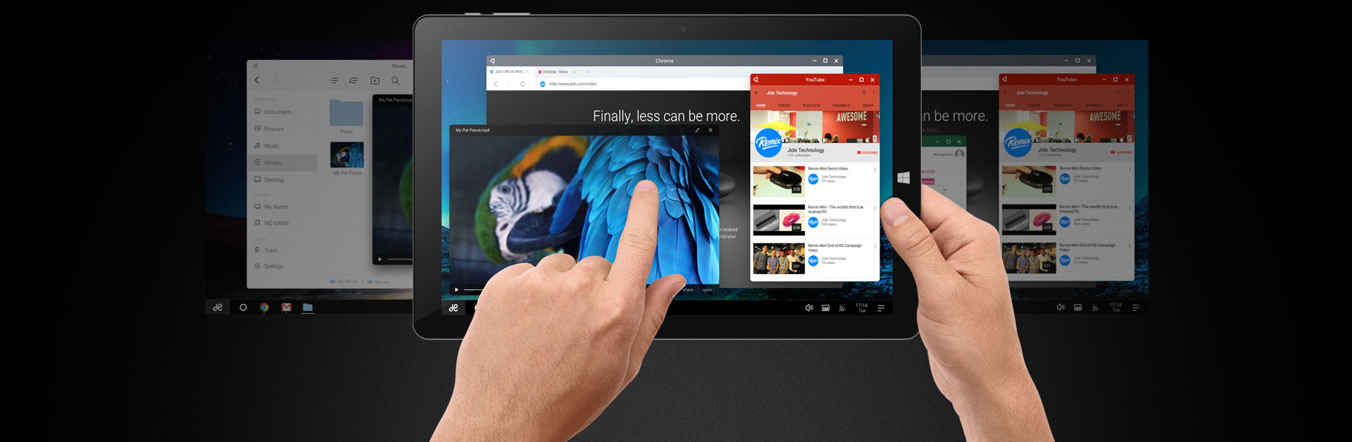 10.8 inch Chuwi Vi10 Plus Remix OS 2-in-1 Tablet