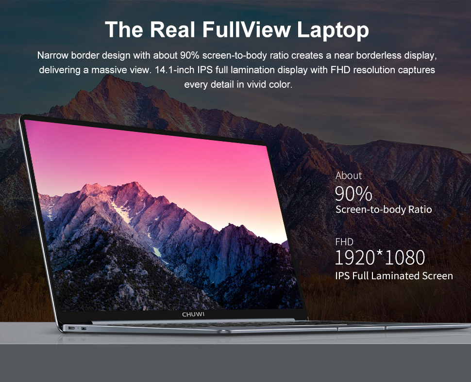 Chuwi Lapbook pro 14 - HD images